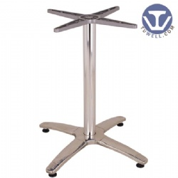 Stainless steel table base