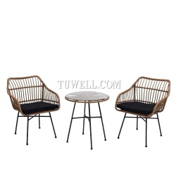 Rattan chair&table collection