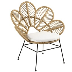 TW8827 Steel Rattan Circle Chair